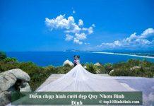 Điểm chụp hình cưới đẹp Quy Nhơn Bình Định