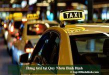 Hãng taxi tại Quy Nhơn Bình Định