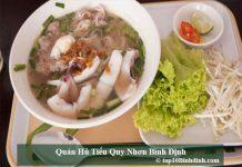 Quán hủ tiếu Quy Nhơn Bình Định